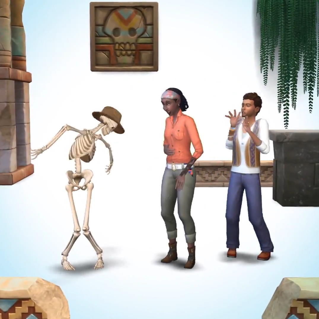 The Sims Game Pack avventura fiungla