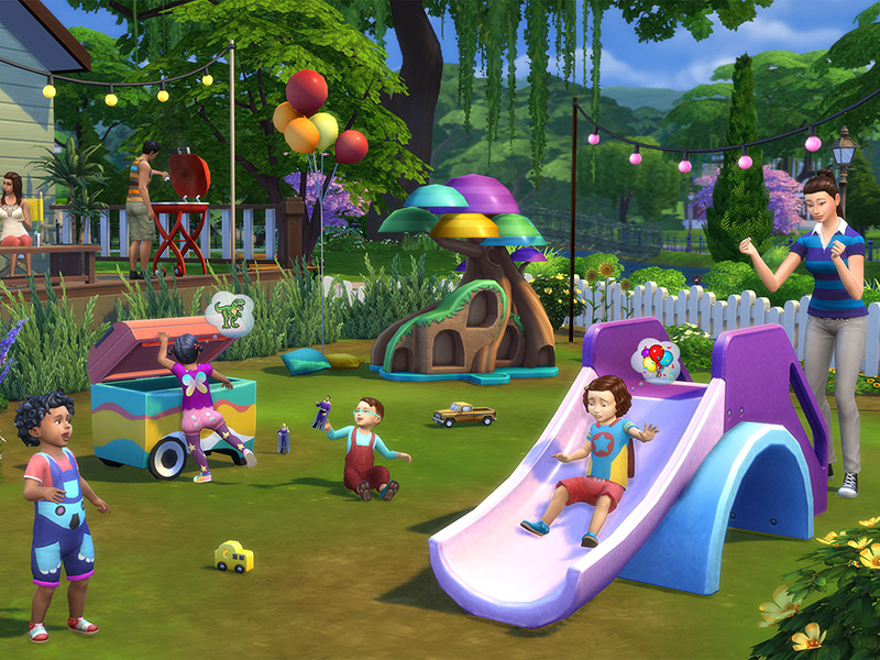 The Sims 4 Bebè Stuff Pack