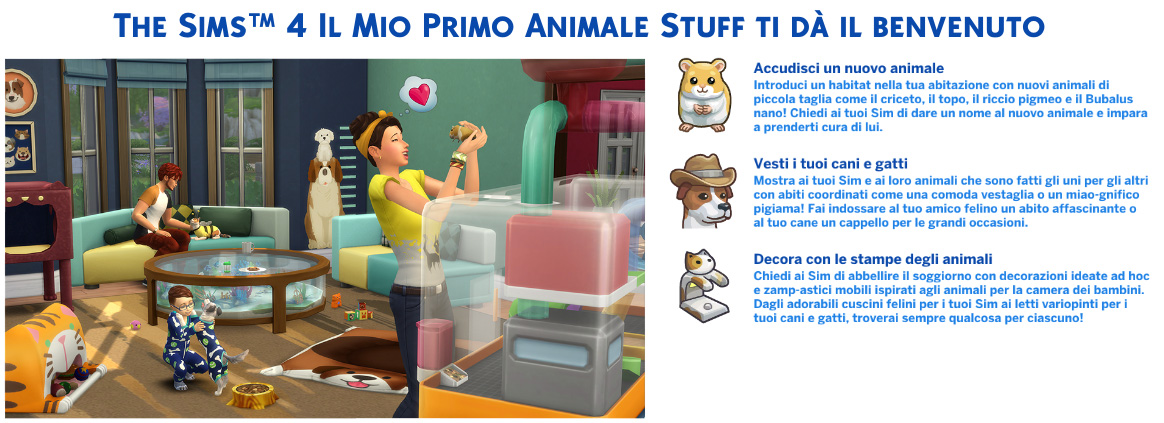 the sims 4 il mio primo animale review benvenuto