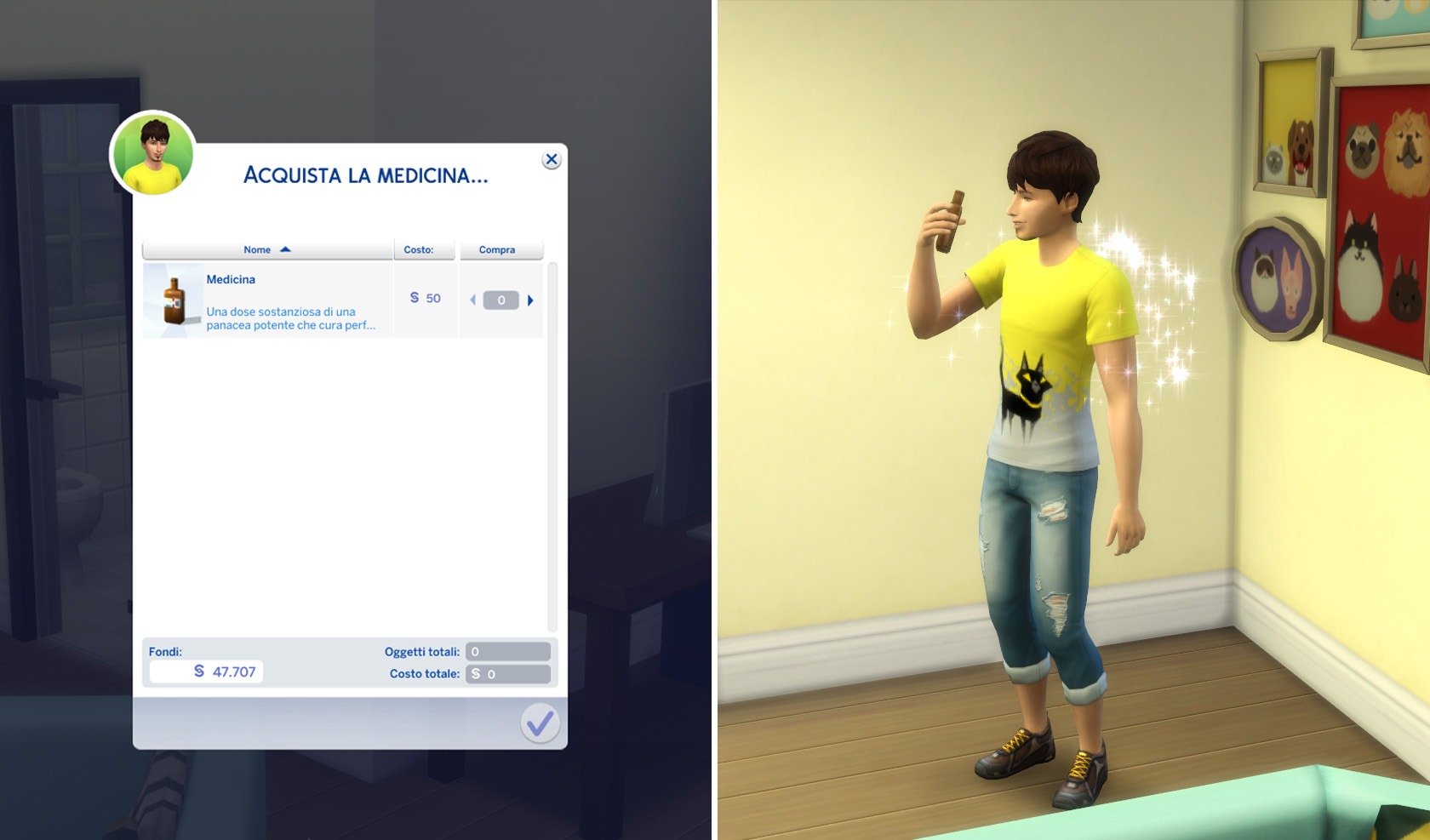 the sims 4 il mio primo animale review medicina