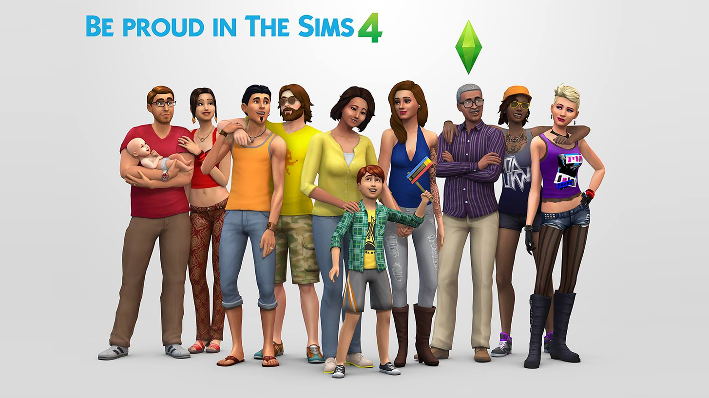 Be Proud in The Sims 4