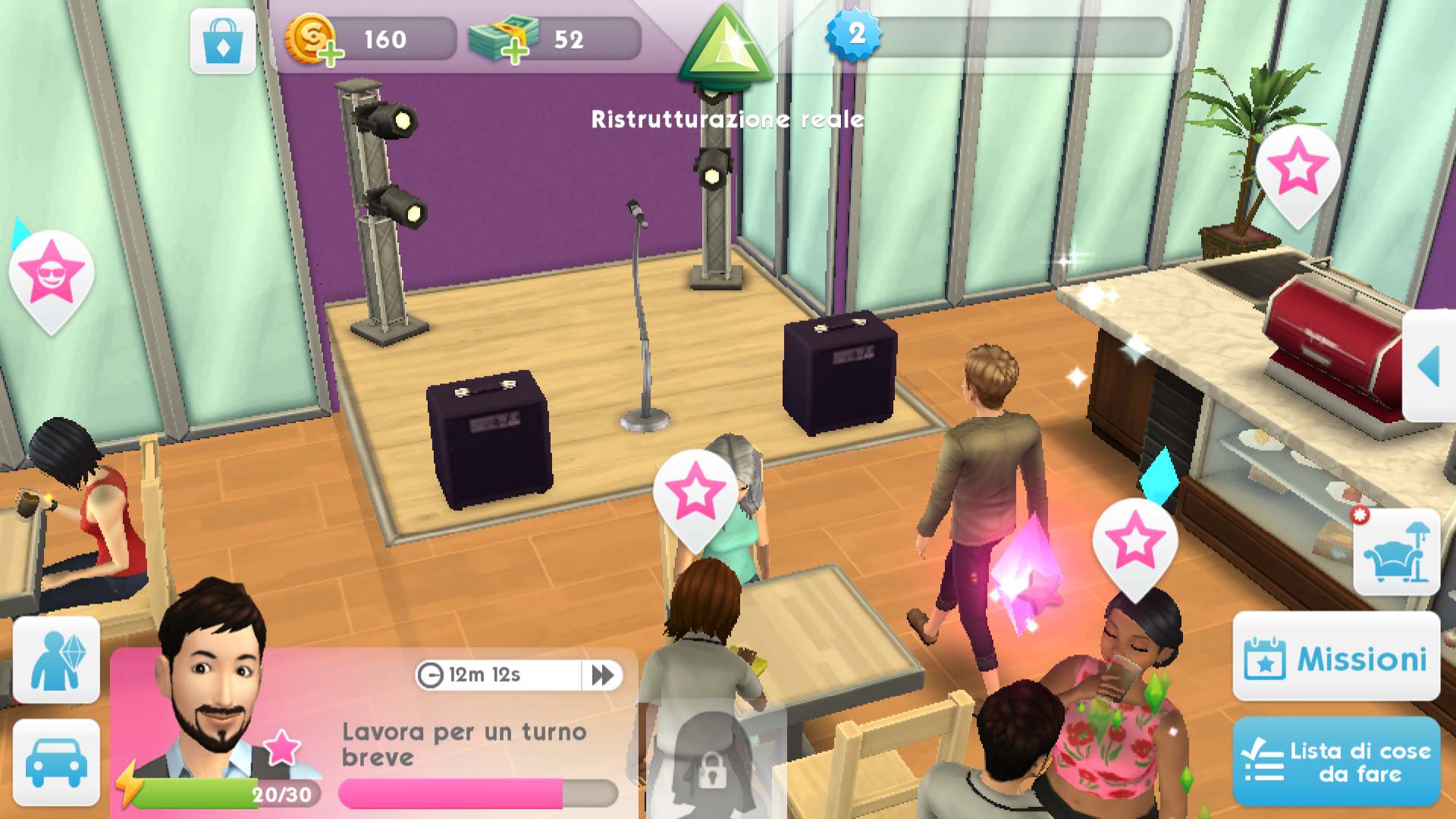 The Sims Mobile Carriere