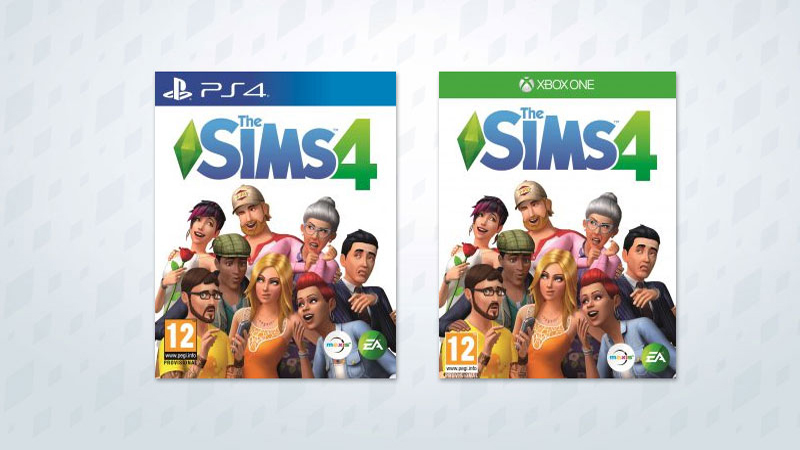 The Sims 4 console patch