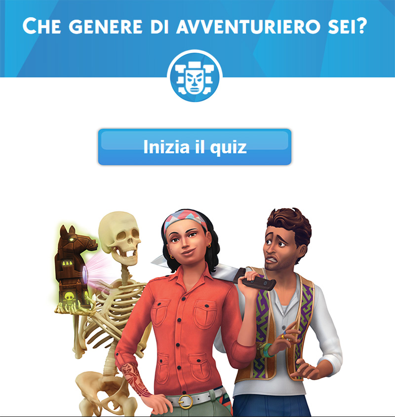 the sims 4 game pack avventura giungla quiz