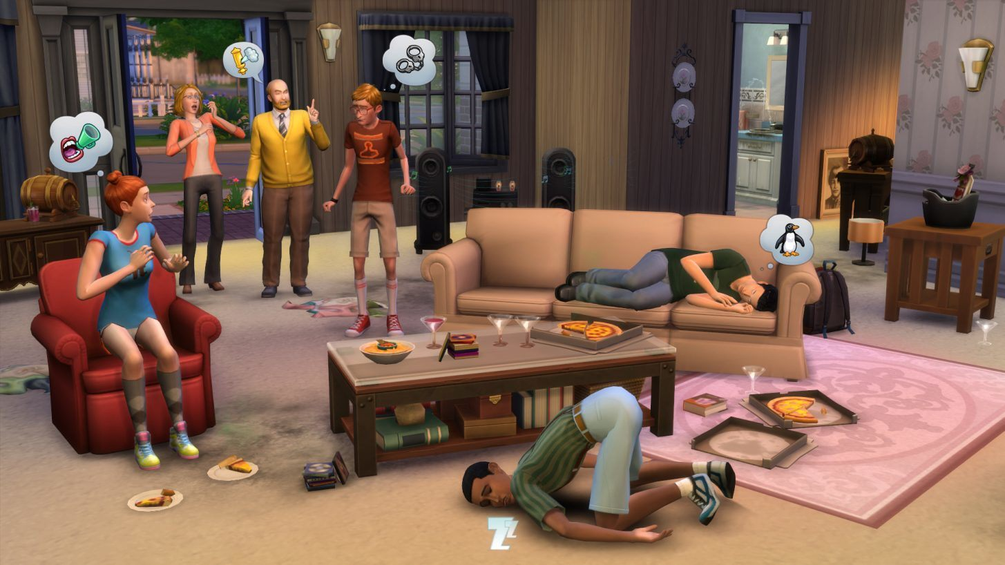 The Sims 4 haiku day