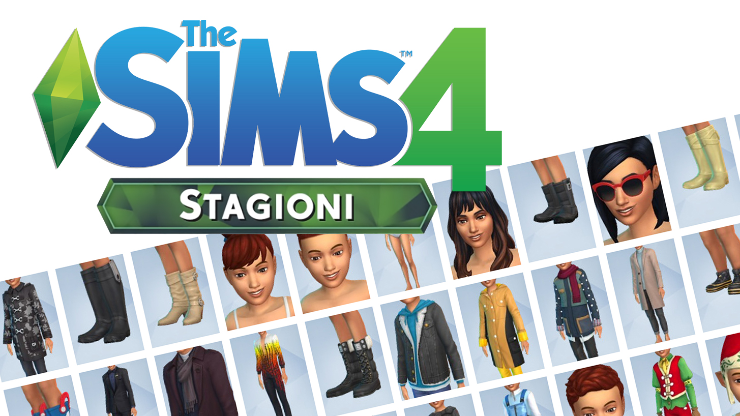 The Sims 4 Stagioni Itemes