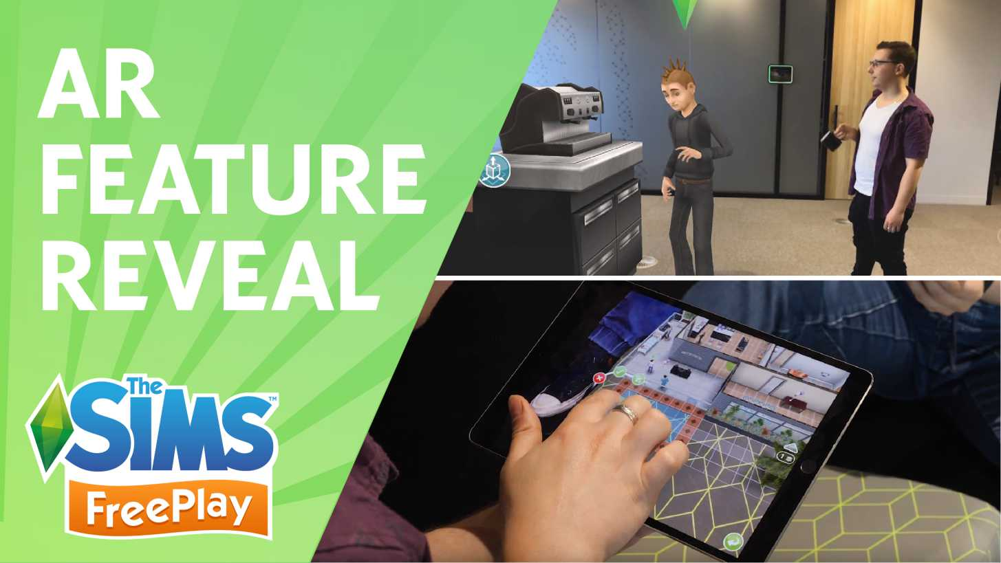 The Sims Freeplay AR