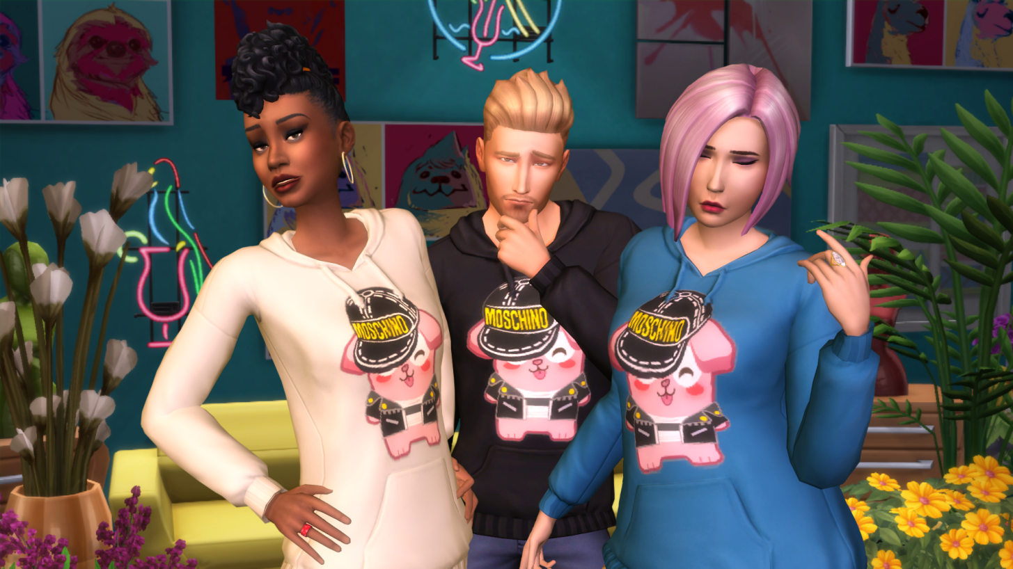 The Sims X Moschino