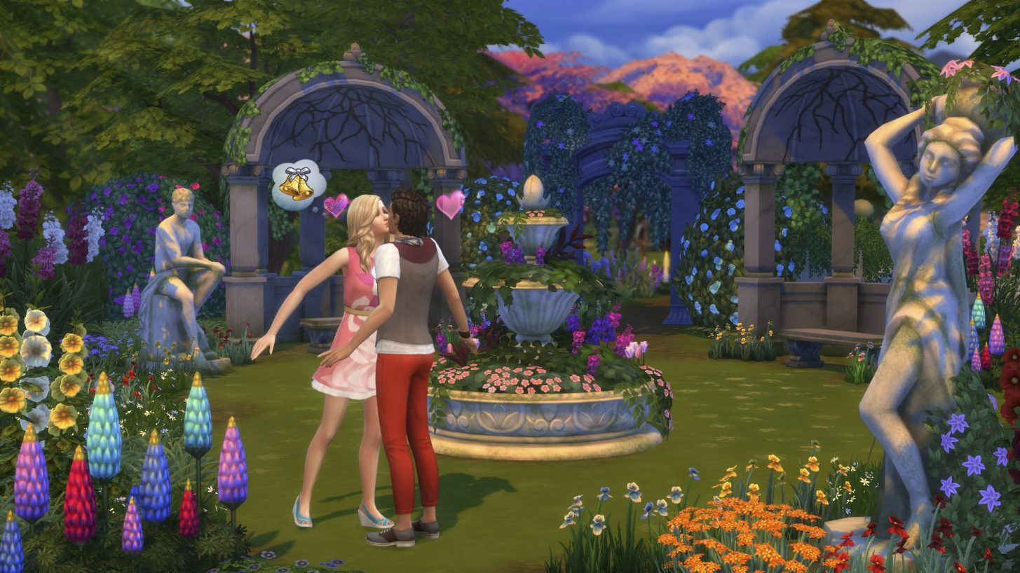 The Sims 4 Giardini Romantici