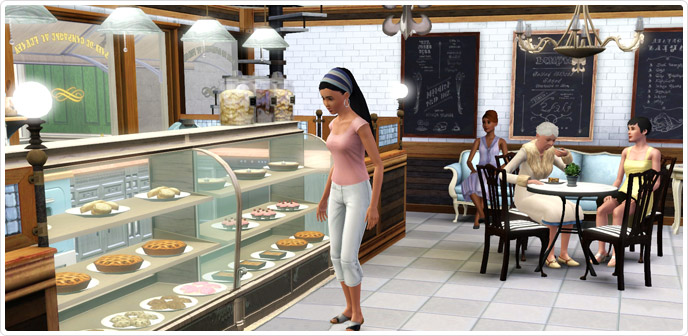 the sims 3 store panetteria
