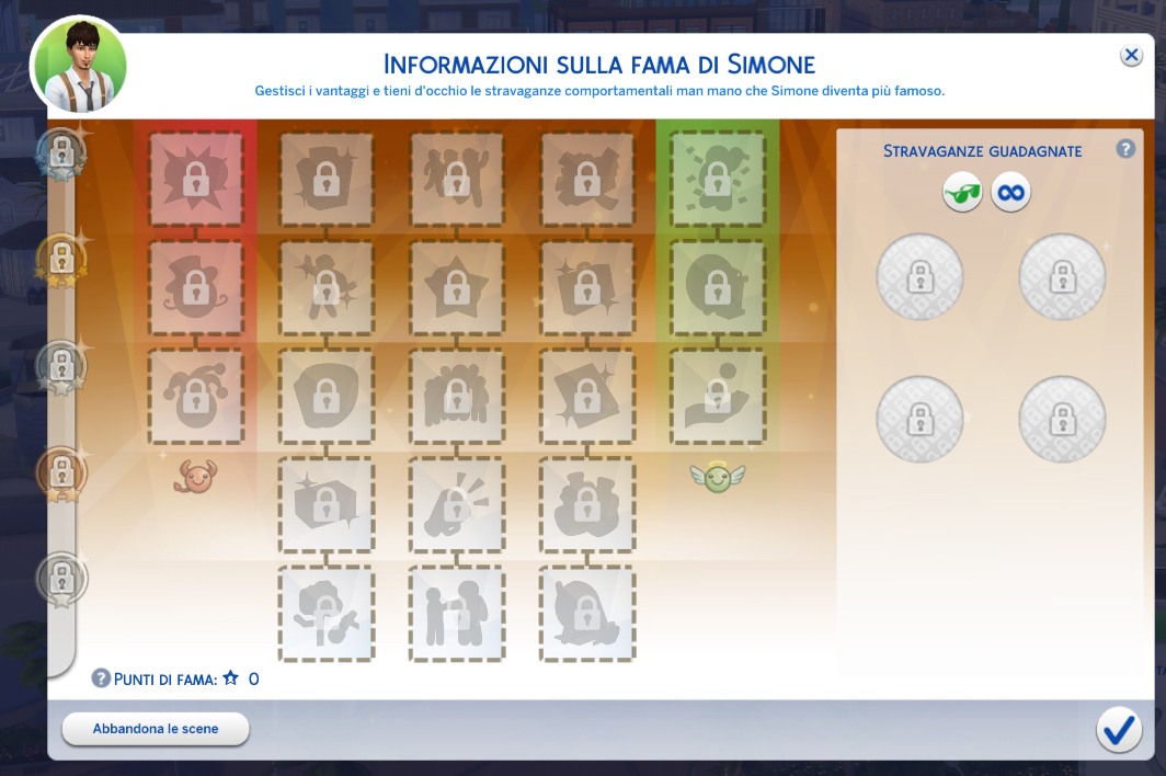 The Sims 4 Nuove Stelle Fama