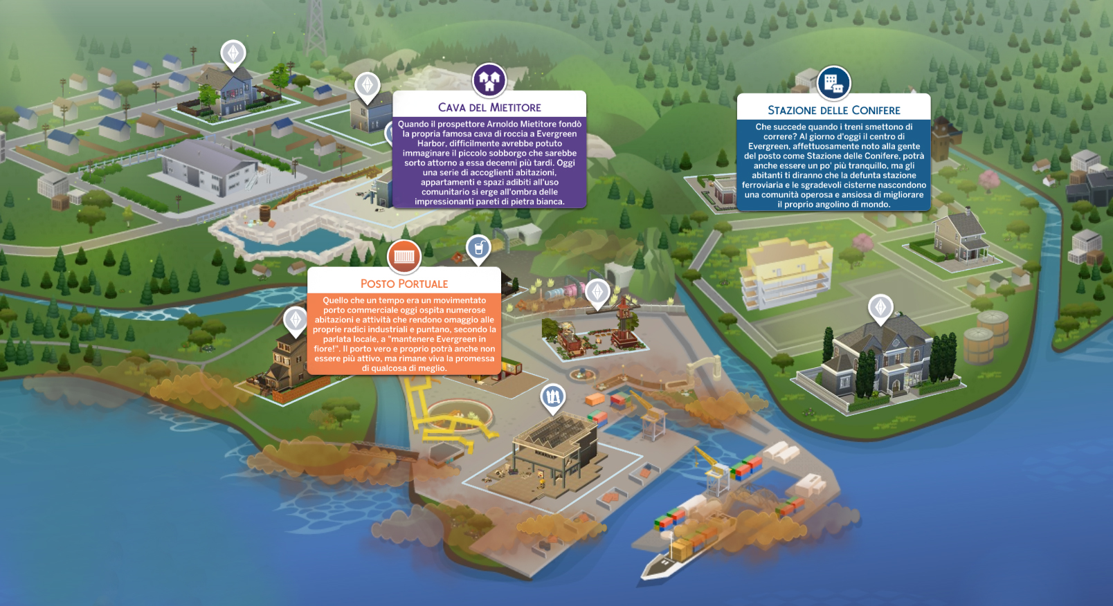 The Sims 4 Vita Ecologica Evergreen Harbor