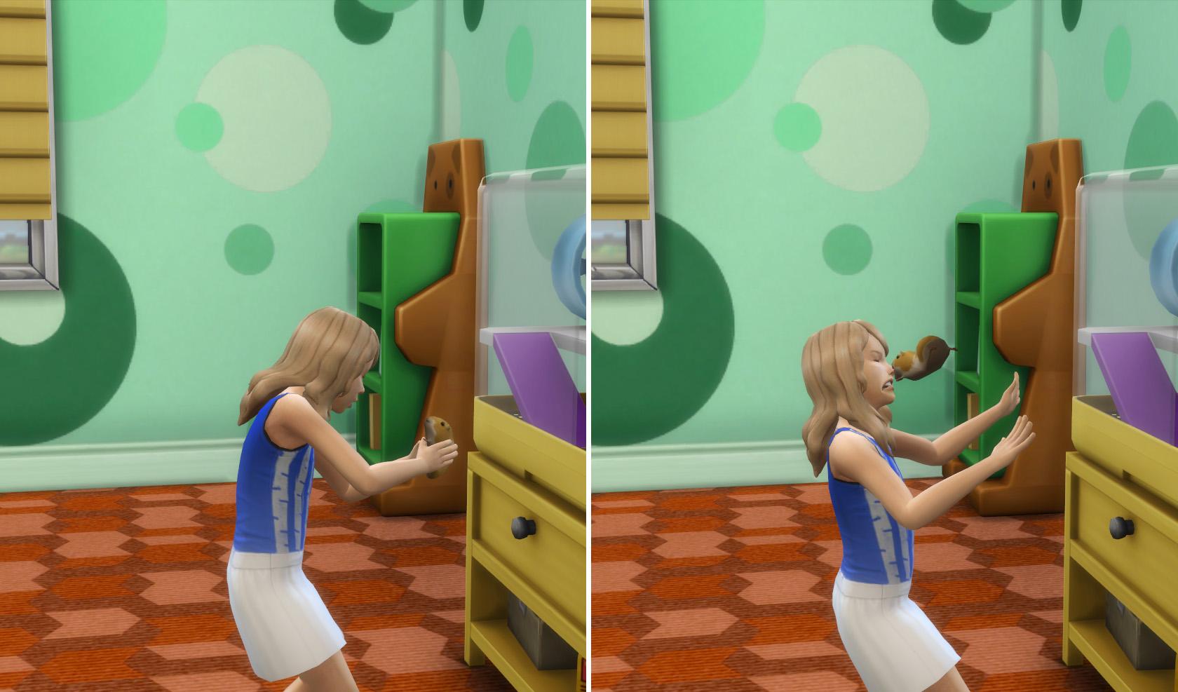 the sims 4 il mio primo animale review attacco