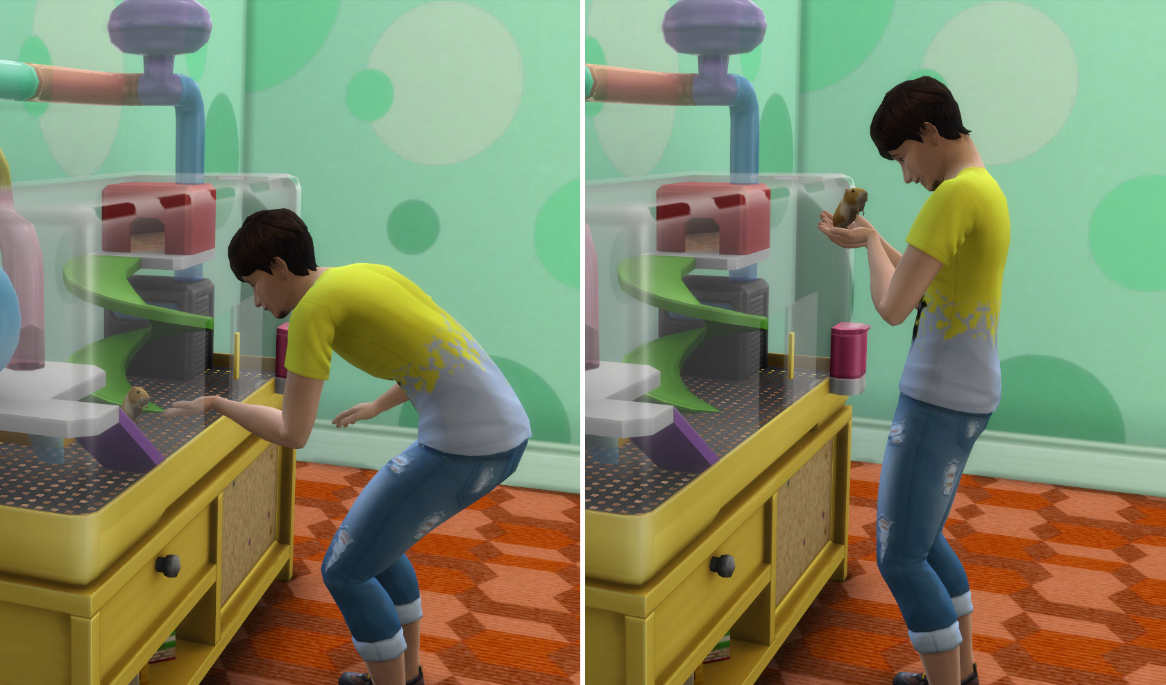 the sims 4 il mio primo animale review interazione