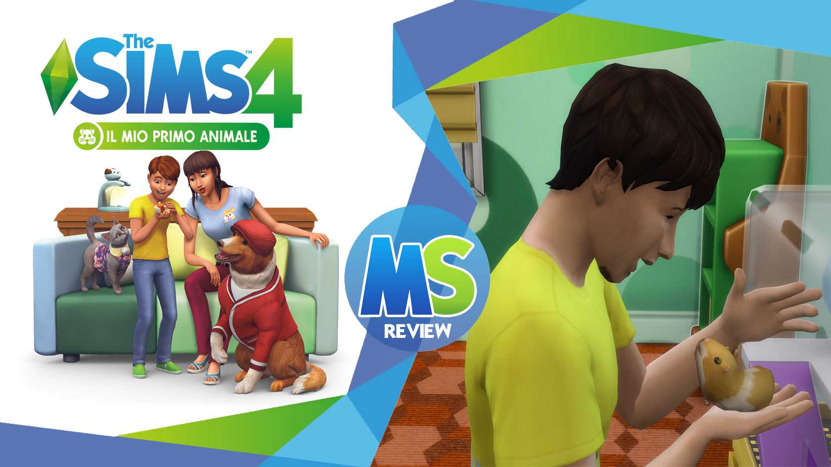 the sims 4 il mio primo animale review logo