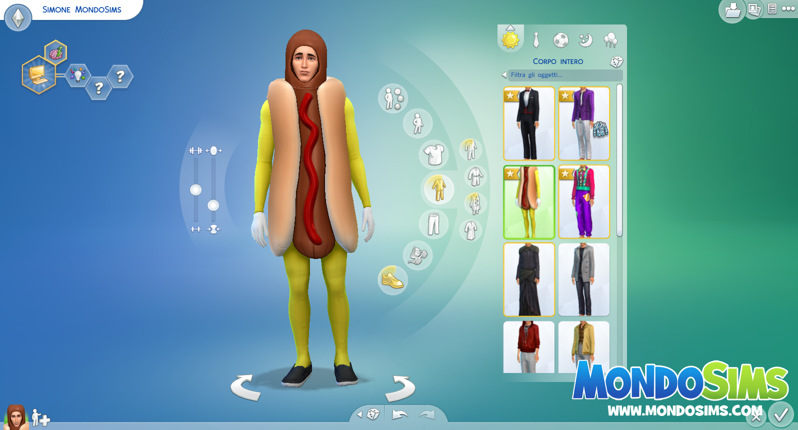 the sims 4 review cas abiti