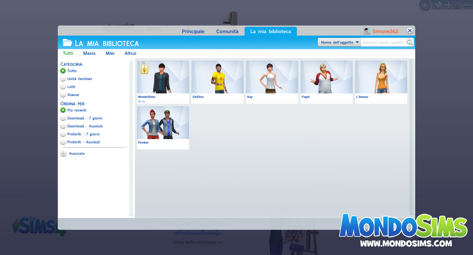 ts4 review gallery biblioteca