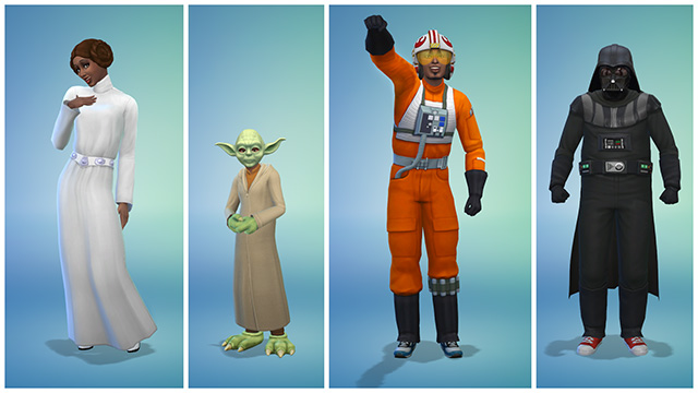 ts4 Star Wars Costumes